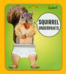 Squirrel Underpants Package